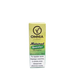 Natural Booster 600x600 247x247 - Βάση Ατμιστική OMNIA NATURAL 10ML 20MG/ML