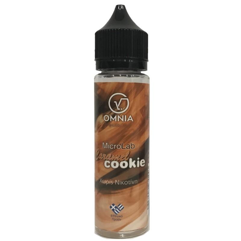 omnia microlab caramel cookie 60ml 1 - OMNIA MICROLAB CARAMEL COOKIE 60ML