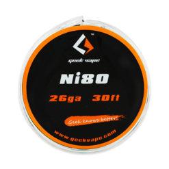 10m GeekVape Atomizer DIY Ni80 Tape Wire 26GA 1 247x247 - Συρμα GeekVape Ni80 26 GA