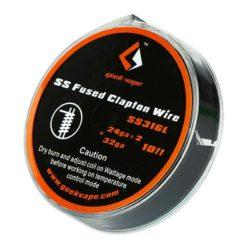 GeekVape SS Fused Clapton Wire 3m 24ga X2 32g 247x247 - Σύρμα GeekVape SS Fused Clapton Wire 3m