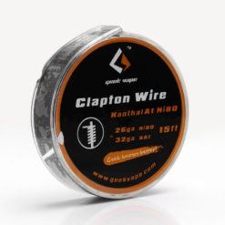 authentic geekvape clapton wire 32ga kanthal a1 26ga ni80 nichrome 271 ohm 5m 15 feet 247x247 - Σύρμα Clapton Wire Kanthal A1 (Ni80) 5m Geekvape