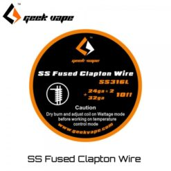 geekvape ss fused clapton wire ss316l  247x247 - Σύρμα SS Fused Clapton Wire