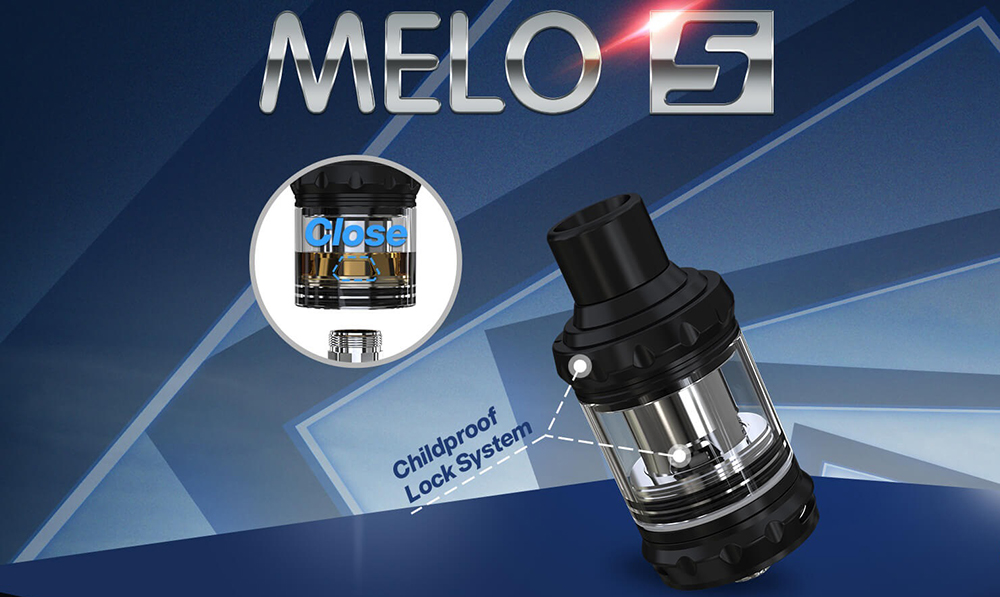 Eleaf Melo 5 2ml Ατμοποιητής Banner - ELEAF MELO 5 2ML