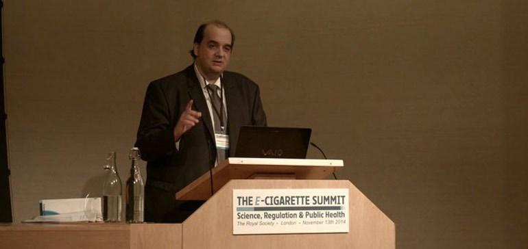 fars - Ο Έλληνας ερευνητής που ηγείται διεθνώς των επιστημονικών πορισμάτων για το ηλεκτρονικό τσιγάρο