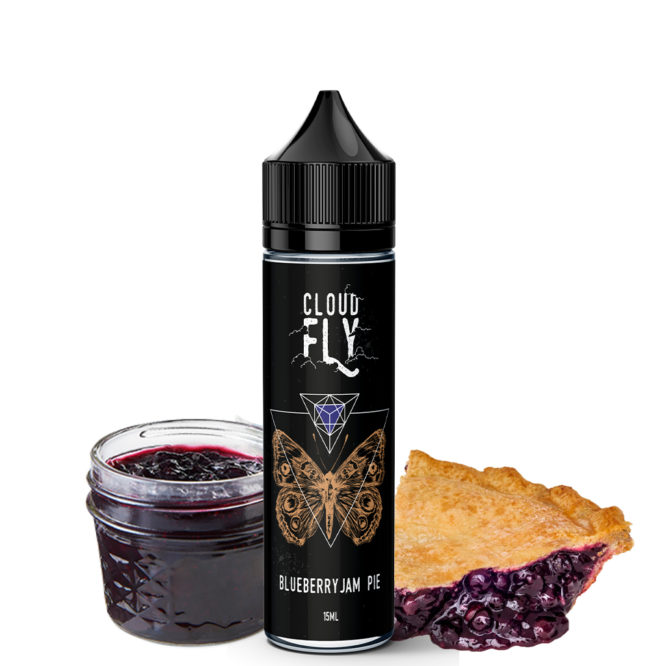 Blueberry Jam Pie 666x666 - Blueberry Jam Pie Cloud Fly Flavoshots