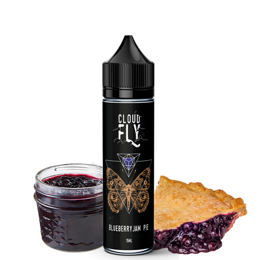 Blueberry Jam Pie - Lemon Cream Cloud Fly Flavoshots