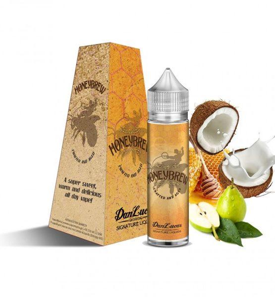 Honeybrew 600x600 555x600 - The Dan Lucas Signature eLiquids Honeybrew Flavour Shot 12ml (60ml)
