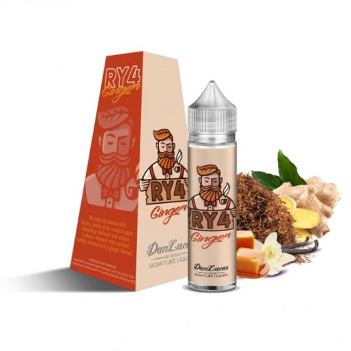 RY4 Ginger 600x600 510x510 - The Dan Lucas Signature eLiquids Ry4 Ginger Flavour Shot 12ml (60ml)