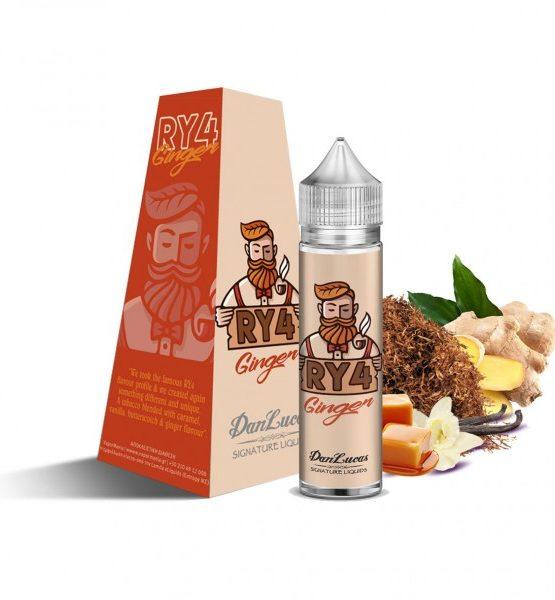 RY4 Ginger 600x600 555x600 - The Dan Lucas Signature eLiquids Ry4 Ginger Flavour Shot 12ml (60ml)