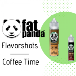 Fat Panda Coffee Time Flavorshots