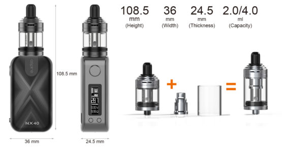 Aspire Rover 2 Kit Specifications 555x289 - Aspire Rover 2 Kit
