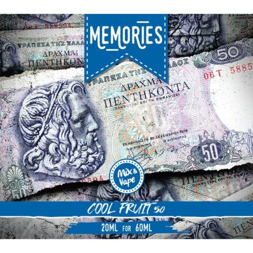memories cool fruit 1 510x510 - Memories Cool Fruit 60ml