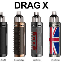 Voopoo Drag X Knight Series Pod Kit All colors 1 247x247 - Voopoo Drag X Knight Series Pod Kit