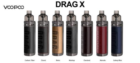 Voopoo Drag X Pod Kit Banner 3 555x249 - VOOPOO DRAG X POD KIT